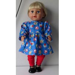 jurk met legging kerst...
