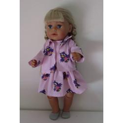jurk met jas roze jet baby...