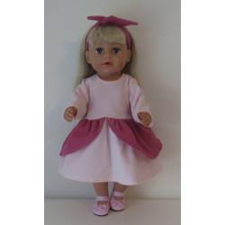 zomerkleding setje roze...
