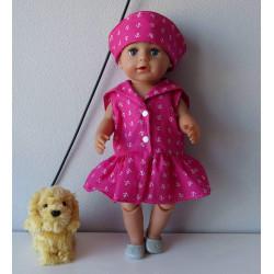 matrozenjurk roze met...
