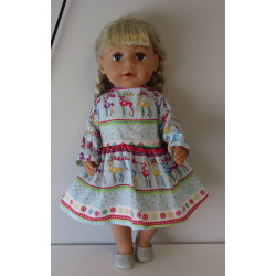 jurk rendieren baby born 43cm
