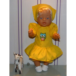 hippejurk set geel met...