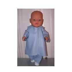 jas met broek blauw baby...