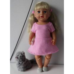 sportieve jurk roze baby...