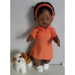 polojurk oranje baby born 43cm