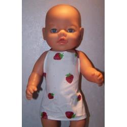 shortje aardbeien baby born...