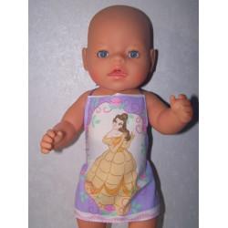 shortje bella baby born 43cm