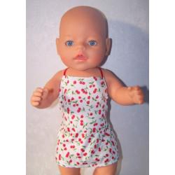 shortje kersjes baby born 43cm