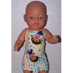 shortje dora baby born 43cm