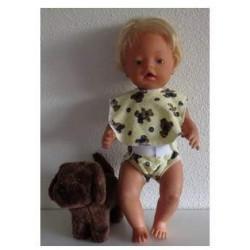 luier met slab beren baby...