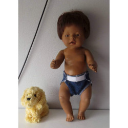 luier bruinbaby born 43cm
