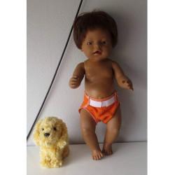 luier oranje baby born 43cm