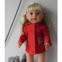 zomerjas rood met roos baby...