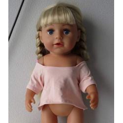 zomershirtje roze baby born...