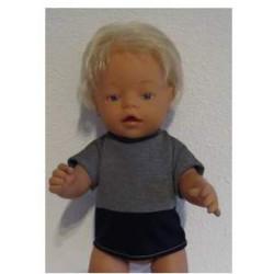 shirtje baby born 43cm