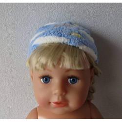 mutsje blauw baby born 43cm