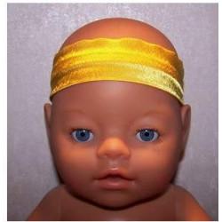 haarband geel baby born 43cm