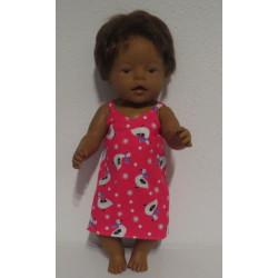 nachthemd roze ganzen baby...