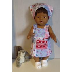 tuinrok baby born 43cm