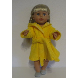 badjas geel baby born 43cm