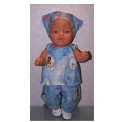 hes setje tiana baby born 43cm
