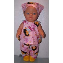 hes setje dora roze baby...