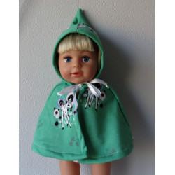 wintercape groen met...