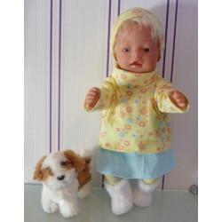 colltrui setje geel baby...