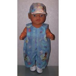 overal tiana baby born 43cm