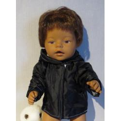 gewatteerdjas zwart  baby...
