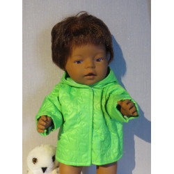gewatteerdjas groen baby...