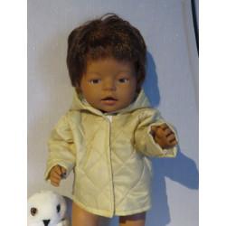 gewatteerdjas baby born 43cm