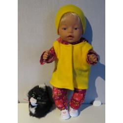 wintersetje baby born 43cm