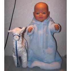 borgreiszak blauw baby born...
