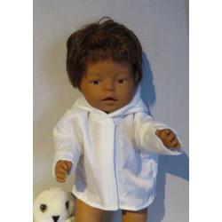 gewatteerdjas wit baby born...