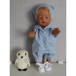matrozen setje baby born 43cm