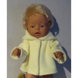 winterjas geel baby born 43cm