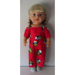 jumpsuit rood pinguins baby...