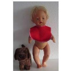 slab rood baby born 43cm
