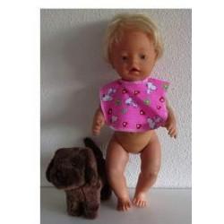 slab roze snoopy baby born...