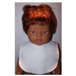 slab wit baby born 43cm