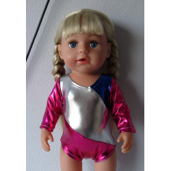 jurk roze pebbels...