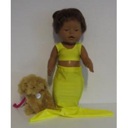 meerminnen pakje geel baby...