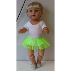 losse tutu neon groen  baby...