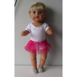 losse tutu hard roze baby...