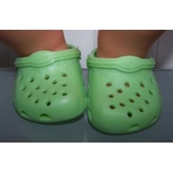 crocs groen baby born 43cm...