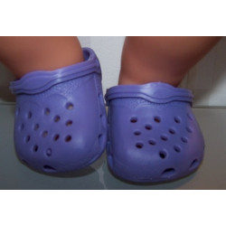 crocs lila baby born 43cm...