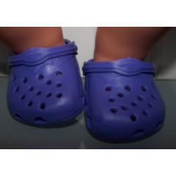 crocs paars baby born 43cm...