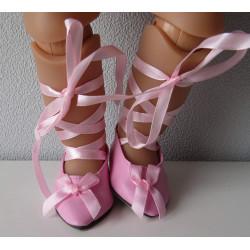 balletschoentjes roze baby...