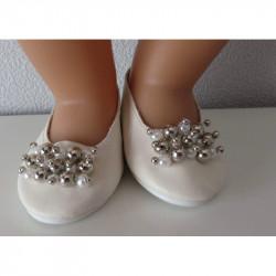 trouwschoentjes met zilver...